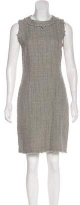 Dolce & Gabbana Tweed Knee-Length Dress