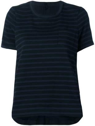 Sacai contrasting panel T-shirt