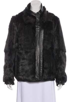Helmut Lang Reversible Fur Jacket