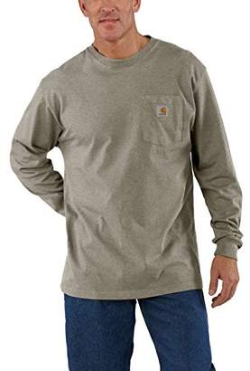 Carhartt Men's Workwear Pocket Long Sleeve T-Shirt K126