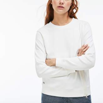 Lacoste (ラコステ) - インターロック ジップ クルーネック スウェットシャツ
