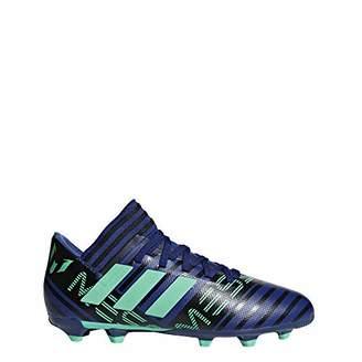 ca396a7308fc adidas Unisex Adults' Nemeziz Messi 17.3 FG Football Boots, Multicolour  (Schwarz/Rot