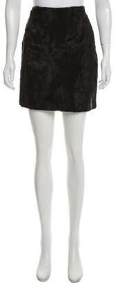 Henri Bendel Textured Mini Skirt