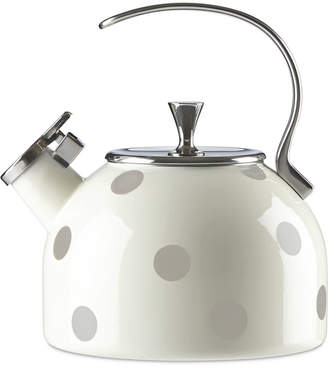 Kate Spade All in Good Taste Deco Dot Tea Kettle