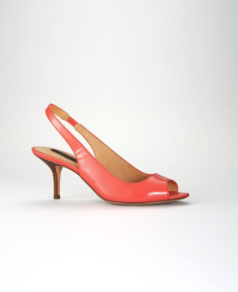 Perfect Kitten Peeptoe Slingback