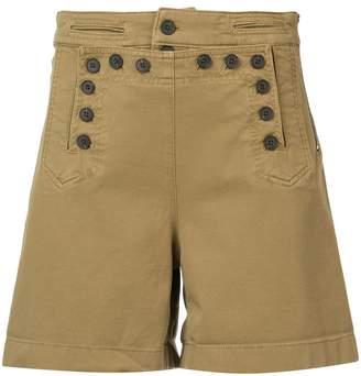 A.L.C. high waisted button shorts