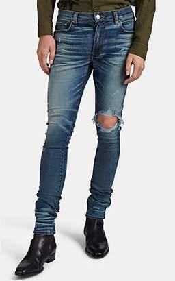 Amiri Men's Broken Distressed Skinny Jeans