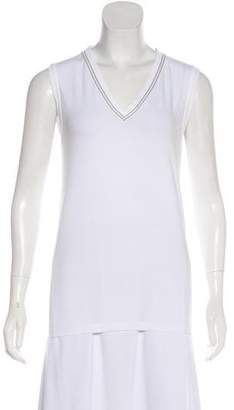 Brunello Cucinelli Sleeveless Embellished T-Shirt