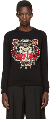 Kenzo Black Chinese New Year Tiger Pullover $245 thestylecure.com