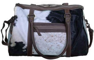 The Decor Store Cow Hide Duffel Bag