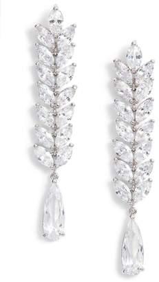 Nina Cascading Long Drop Earrings
