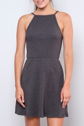 element Ribbed Fit-And-Flare Dress $64 thestylecure.com