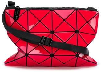Bao Bao Issey Miyake triangular applique satchel