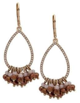 lonna & lilly Goldtone Shakey Drop Earrings