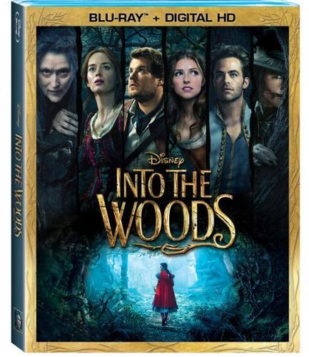 "WALT DISNEY VIDEO ""Into the Woods"" Blu-Ray + Digital HD - Dolby DTS"
