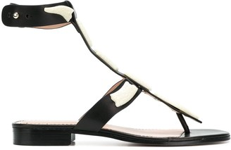 RED Valentino Sin Flat sandals