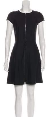 Tory Burch A-Line Zip-Up Mini Dress