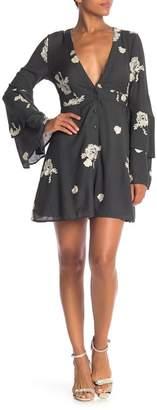 Sadie & Sage Floral Button Down Dress