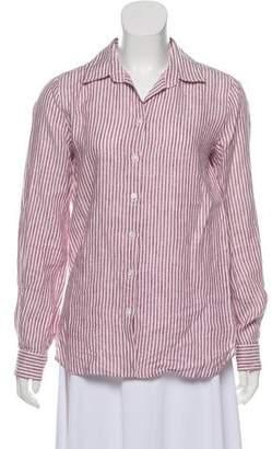 Max Mara Weekend Linen Collared Shirt