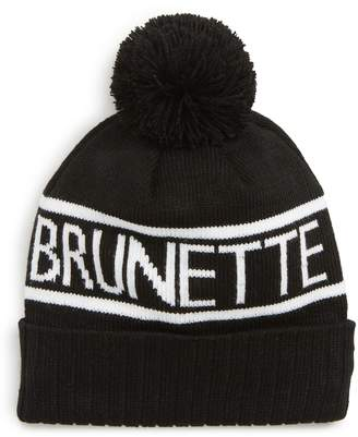 BRUNETTE the Label Pompom Beanie