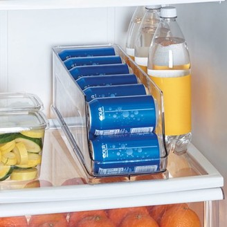 Copco Clear Plastic Refrigerator 12 Can Storage Bin