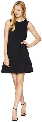 Adrianna Papell Knit Crepe Drop Waist Shift Dress Women's Dress