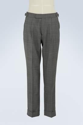 Officine Generale June striped wool pants