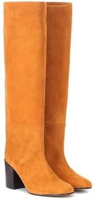 Stuart Weitzman Tubo suede knee-high boots
