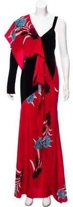 Diane von Furstenberg 2017 Floral Print Dress