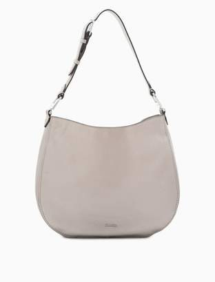 Calvin Klein pebble leather large hobo