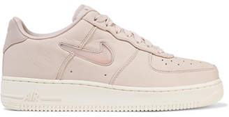 Nike - Nikelab Air Force 1 Leather Sneakers - Pastel pink $150 thestylecure.com