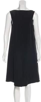 Hakaan Backless Silk Dress