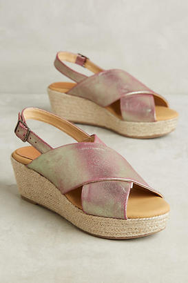 Matt Bernson Portofino Wedge Sandals $188 thestylecure.com