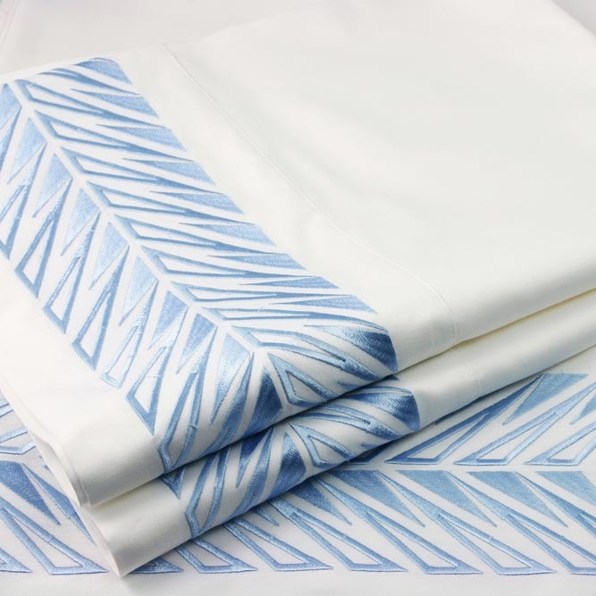 Plush Living - Sicily Embroidered Sheet Set