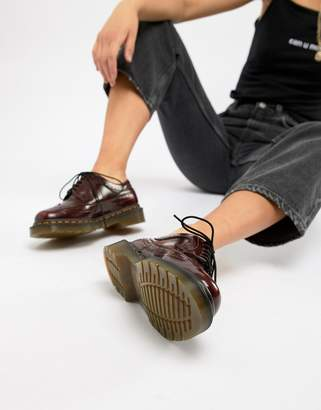 Dr. Martens 3989 Cherry Stacked Brogues