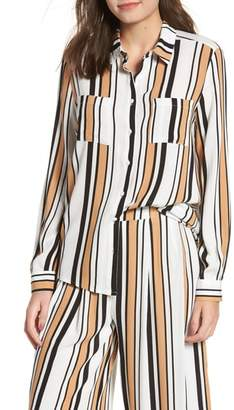 LIRA Clinton Stripe Shirt