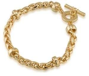 Lauren Ralph Lauren 12K Goldplated Braided Bracelet