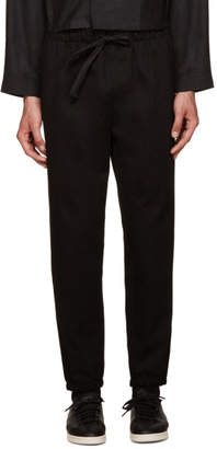 Phoebe English Black Lounge Pants