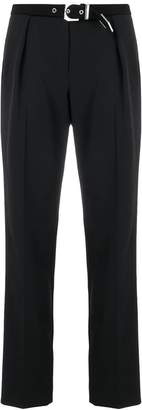 Versus high-waist belt trousers