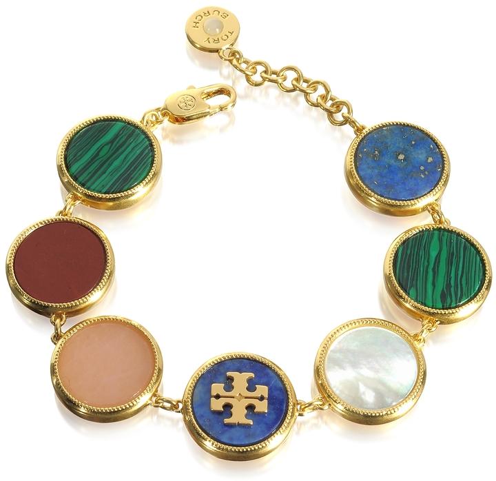 Tory BurchTory Burch Multicolor Semi-precious Stone Bracelet