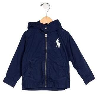 Polo Ralph Lauren Boys' Hooded Zip-Up Jacket