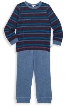 Splendid Little Boy's Two-Piece Sweatshirt& Sweatpants Set