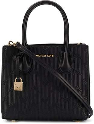 MICHAEL Michael Kors Mercer Leather Shoulder Bag