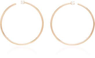 Anita Ko Bardot 18K Gold Hoop Earrings