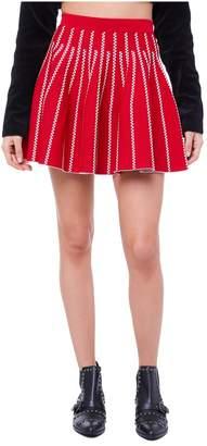 Juicy Couture Jacquard Flirty Swing Skirt