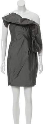 Robert Rodriguez One-Shoulder Mini Dress