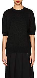 Marc Jacobs Women's Metallic Ribbed Sweater-Black
