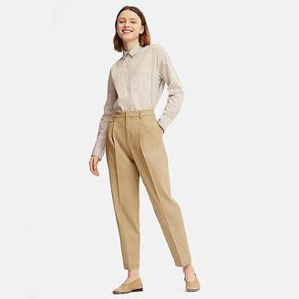 Uniqlo Women's Cotton Tapered Ankle-length Pants