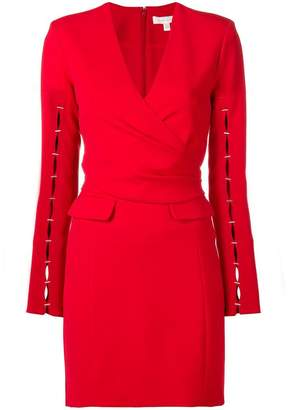 Jonathan Simkhai fitted wrap dress
