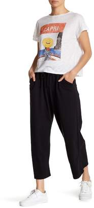 Michelle by Comune Cropped Wide Leg Knit Pants